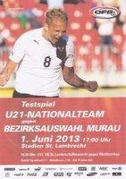 U21 Nationalmannschaft zu Gast